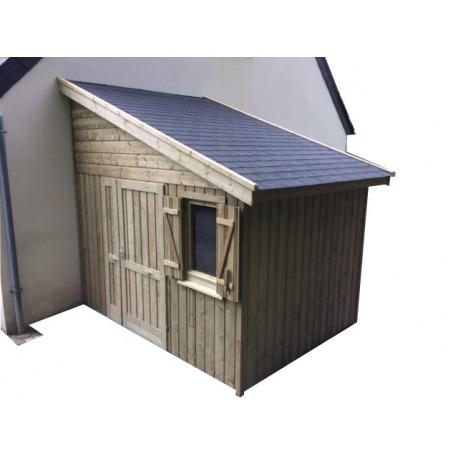 détaillant en ligne 2c3d2 4b895 Abri de jardin toit 1 pente