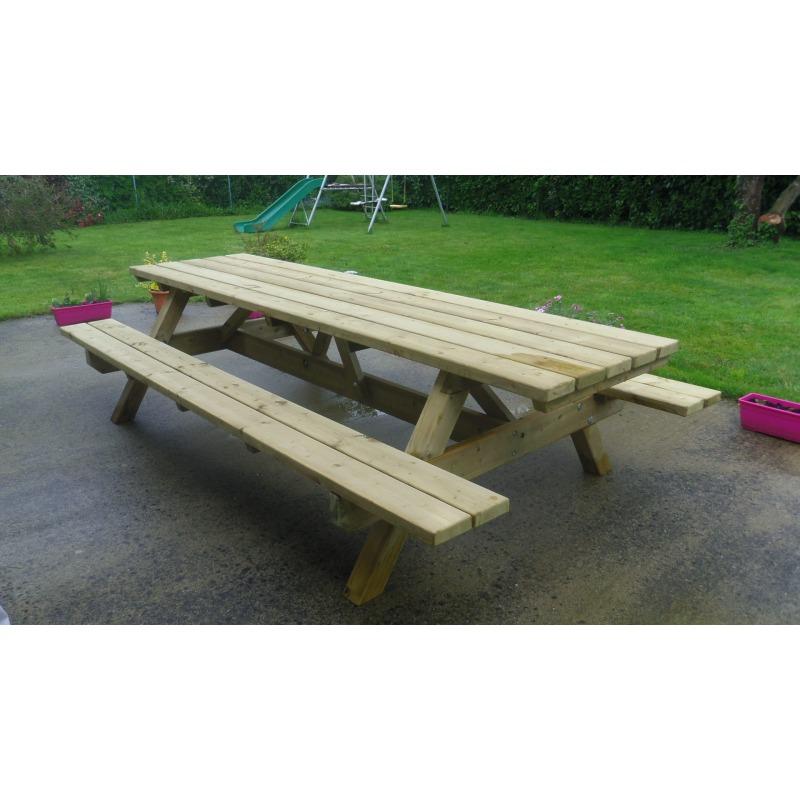 Bretagne Table Nique Fabrication En De Pique Bois Tl1KJFc3
