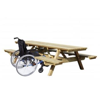 table 3 m avec accès PMR