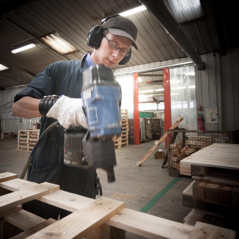 Palettes sur mesure fabriqu es en bretagne - Ou trouver des palette en bois ...