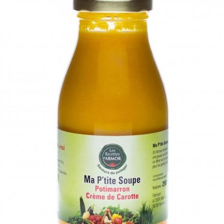 Ma P'tite soupe Potimarron Crème de Carotte 250ml