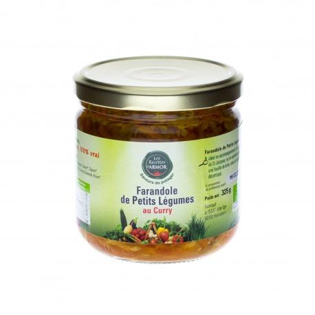Farandole de Petits Légumes au Curry 325gr