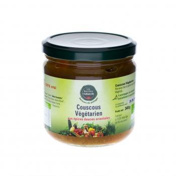 Couscous végétarien aux épices douces orientales 340gr
