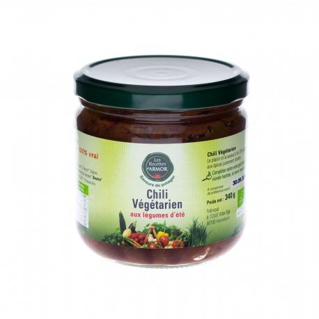 Chili Végétarien aux légumes d'été 340gr