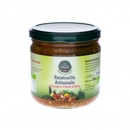 Ratatouille Artisanale cuisinée à l'Huile d'Olive 325gr
