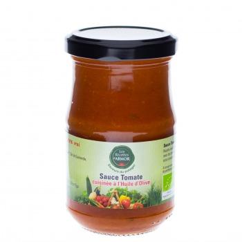 Sauce Tomate cuisinées à l'huile d'olive 200gr