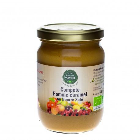 Compote Pomme Caramel au Beurre Salé 250gr