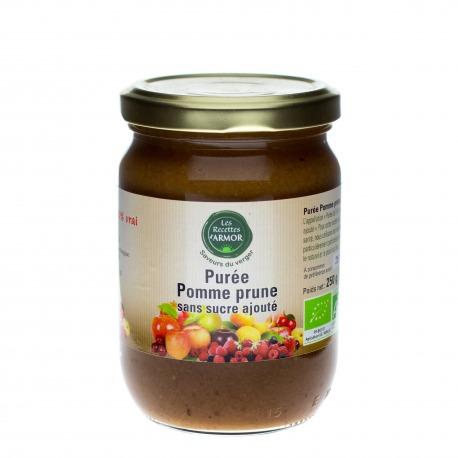 Purée Pomme Prune sans sucre ajouté 250gr