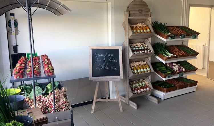 Boutique bio à Caudan